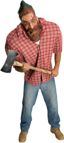 [Men's Oversized Lumberjack Costume] (Mens Lumberjack Costumes)