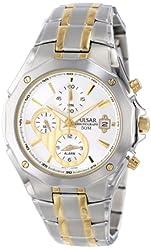 Pulsar Men's PF3960 Chronograph Silver Dial Watch