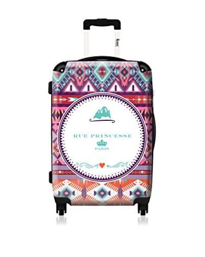 RUE PRINCESSE Trolley Rigido   61 cm [Multicolore]