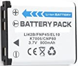 LI-42B Battery for Pentax Optio M30, Optio T30, Optio W30 & More