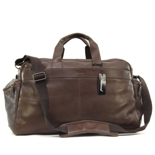 Ashwood Travel Bag - Weekend Holdall - Brown Leather