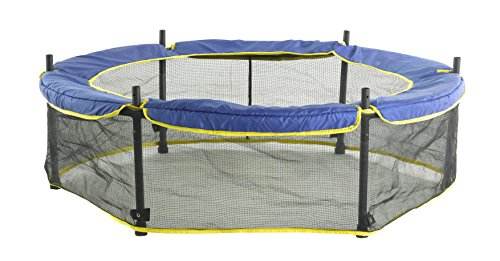 Blue-Trampoline-Safety-Pad-fits-for-Bounce-Pro-55-Kids-Airzone-Dora-the-Explorer-Trampoline-with-Safety-Enclosure