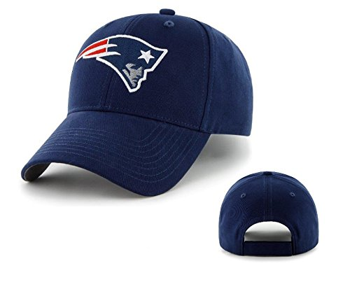 Nfl New England Patriots Kid'S '47 Brand Basic Mvp Adjustable Hat, Light Navy