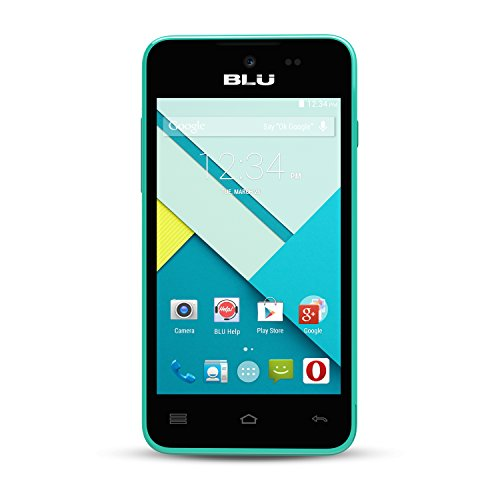BLU Advance 4.0L Unlocked Smartphone -Global GSM - Blue