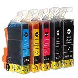 Ink Cartridge Compatible CLI221 PGI-220 PR Canon Pixma MX860 MX980 --- Color:Yellow