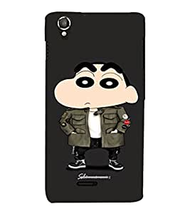 EPICCASE Detective Ching Shang Mobile Back Case Cover For Lava Iris X800 / Lava Iris X800 (Designer Case)