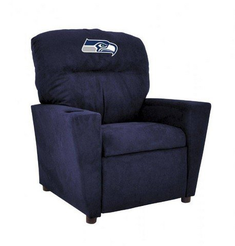 Imperial-Officially-Licensed-NFL-Furniture-Pre-Teen-Microfiber-Recliner-Seattle-Seahawks