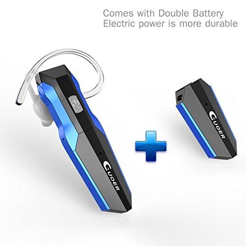 Levin™ Bluetooth Kopfhörer 4.0 Wireless Sport Stereo Headset,Kompatibel mit iPhone,Android und anderen führenden Smartphones - Schwarz