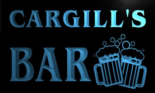 w007198-b-cargills-nom-accueil-bar-pub-beer-mugs-cheers-neon-sign-biere-enseigne-lumineuse