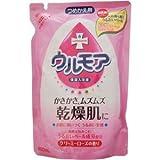 アース製薬 ウルモア 保湿入浴液 クリーミーローズの香り 詰替用 480ml(入浴剤)×12点セット (4901080539410)