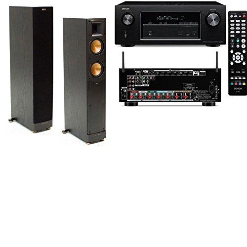 Klipsch Rf-52Ii Floorstanding Speakers-Denon Avr-X2100W 7.2