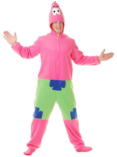 Charades Men's Starfish Costume