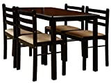 Nitraa Augusta Four Seater Wooden Dining Table With Chair Sets
