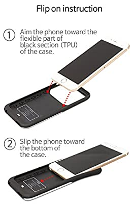 Apple Certified Qi and Powermat Wireless Phone Case for iPhone 6