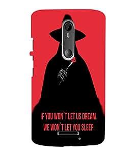 EPICCASE Dream in Sleep Mobile Back Case Cover For Moto X 3rd Gen (Designer Case)