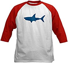 CafePress Kids Baseball Jersey - Shark Kids Baseball Jersey