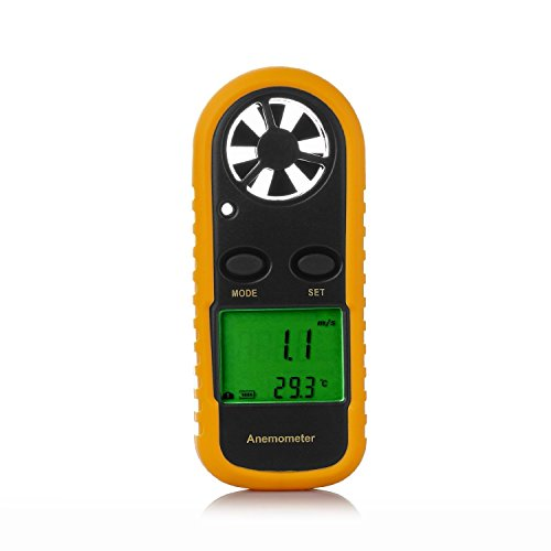 Leaton GM816 簡単·手軽 LCDデジタル 風速計 風量計 風温度計 -10 to 45 C