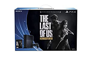 PlayStation 4 Console with Free The Last of Us Remastered Voucher by Sony Computer Entertainment
