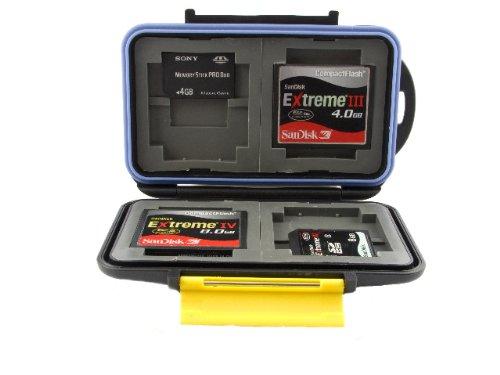 Speicherkarten-Schutzbox-fr-CF-Compactflash-und-SDHC-XC-Karten-Pro-Duo-und-XD-Karten-Wasserdicht