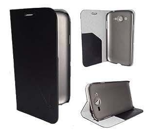 Generic VAVA Series Flip Cover for Samsung Galaxy Core (Black)