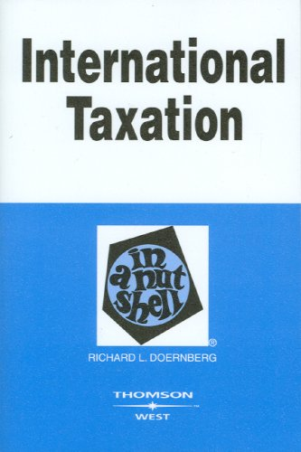 International Taxation in a Nutshell (Nutshell Series)