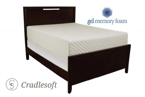 Cradlesoft¨, Deluxe 14-Inch Gel Memory Foam Mattress, King
