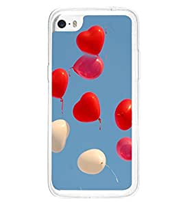 Heart Balloons 2D Hard Polycarbonate Designer Back Case Cover for Apple iPhone 5C