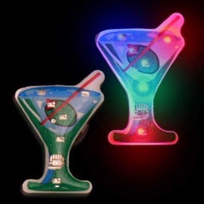 Flashing Martini Glass Blinkies