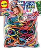 Alex Toys Loop -Feetn Loom Refill, 108/Pkg, Multi Colors