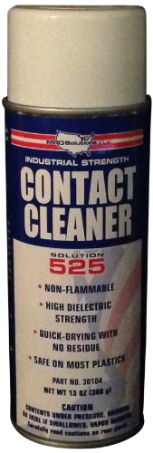 Mro Solutions 525 High Purity Contact Cleaner In Aerosol Can, 16Oz Capacity