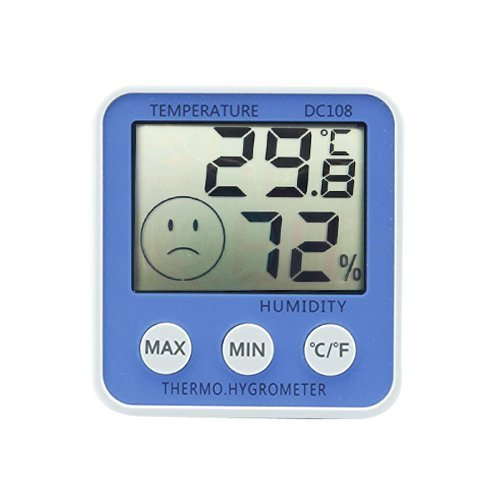 AODE® Digital Large LCD Indoor Hygrometer Thermometer Humidity Easy Read Display 130021 - 1