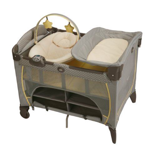 Graco Pack 'n Play Playard with Newborn Napper Station DLX, Peyton