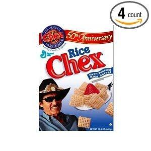 Amazon.com: Bulk Pak Rice Chex Cereal 4 Case 33 Ounce