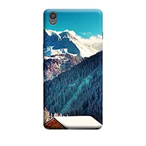 iShell Premium Printed Mobile Back Case Cover With Full protection For OnePlus X (Designer Case)