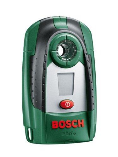 DIY Digitales Ortungsgerät PDO 6, Batterie, Karton (Erfassungstiefe Stahl/ Kupfer/ stromführende Leitungen: max. 60/ 50/ 30 mm)