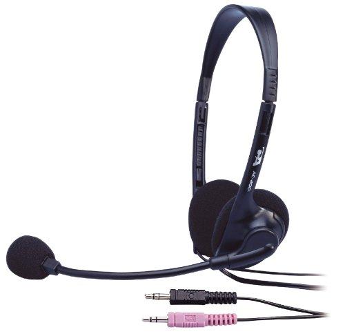 Cyber Acoustics Ac-200 3.5Mm Plug Stereo Speech Headset Boom Mic
