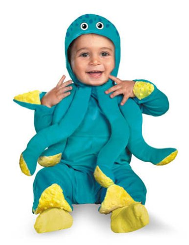 Baby-Toddler-Costume Octo Cutie Toddler Costume 12-18 Month Halloween Costume