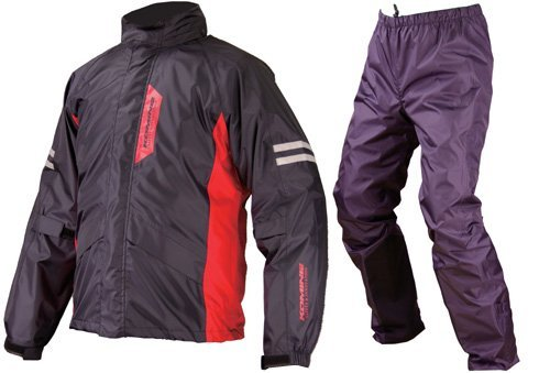 コミネ RK-539 BREATHTER RAIN WEAR BLACK L 03-539