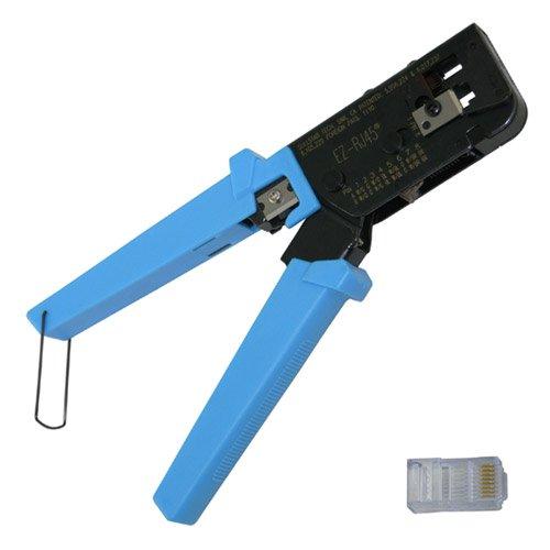 Platinum Tool EZ-RJ45 Crimp Tool for crimping RJ-11, RJ-12, RJ-45 and EZ-RJ45® connectors.