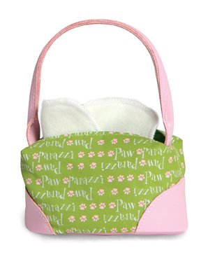 Pawparazzi Fashion Pet Carrier Purse - Green - 1