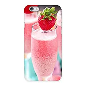 Stylish Strawberry Shake Back Case Cover for iPhone 6 6S