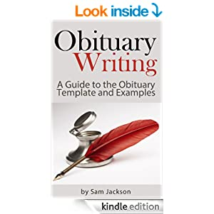 Obituary writing a guide to the obituary template and for Obituary guide template