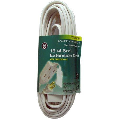 Ge Extension Cord, 15 Foot лонгслив printio ge гашаузкая фудболка