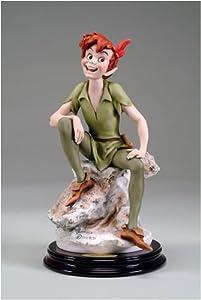 "Amazon.com - ""Giuseppe Armani Figurine Peter Pan, Disney Showcase 2019"