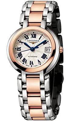 Longines Prima Luns in Steel and Gold Women's Watch from Longines