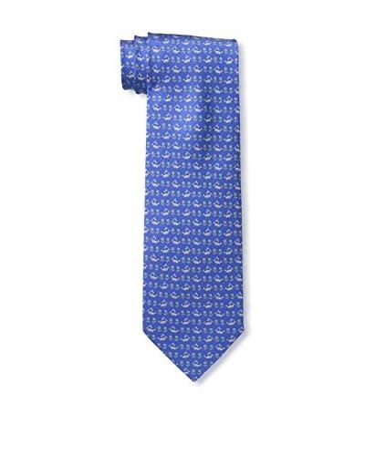 Salvatore Ferragamo Men's Sasso Tie, Acqua