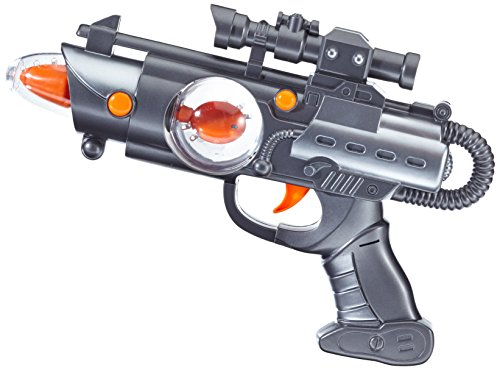 Simba Simba Planet Fighter Light Shooter, Multi Color (3 Assortment) (Multicolor)