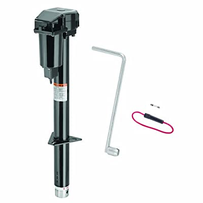 Fulton 500198 Black A-Frame Jack with Powered Drive