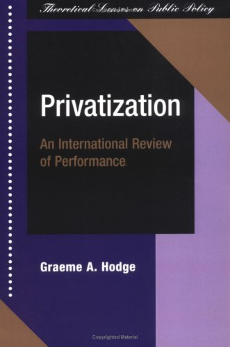 Privatization: An International Review Of Performance