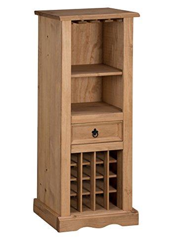 Mercers-Furniture-Corona-Weinregal-Holz-Antik-Wachs